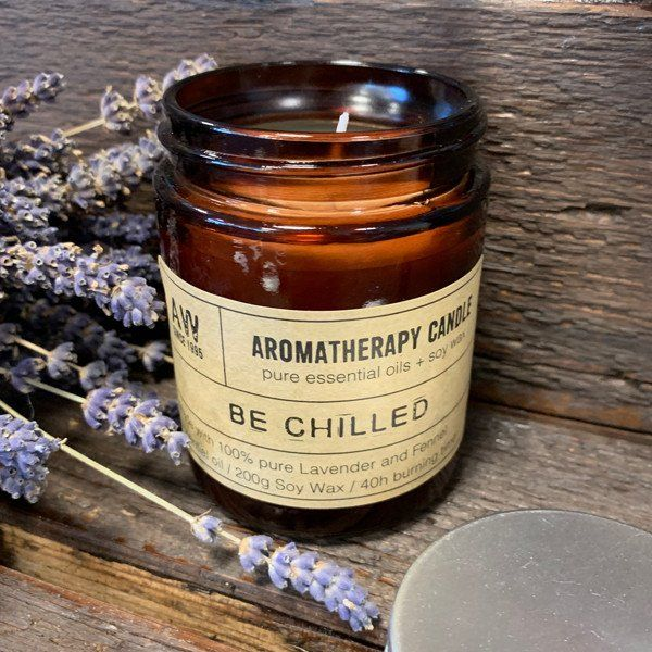 Aromatherapy Candle , Be Chilled