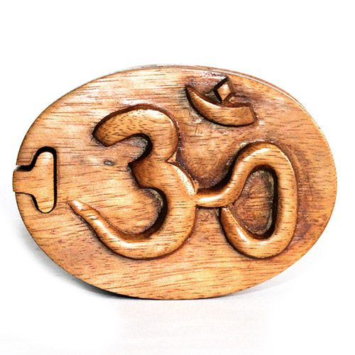 Bali Magic Trinket Box - Om